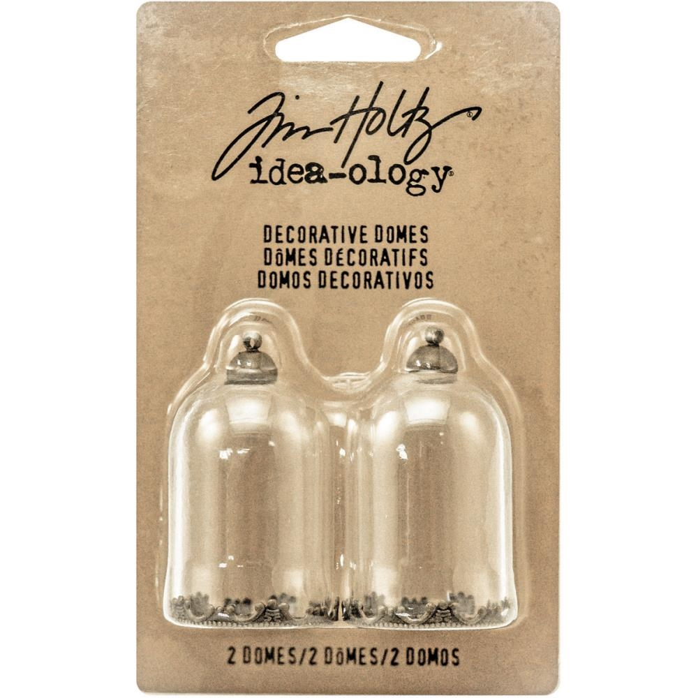 Tim Holtz Idea-ology DECORATIVE DOMES Findings TH93265 zoom image