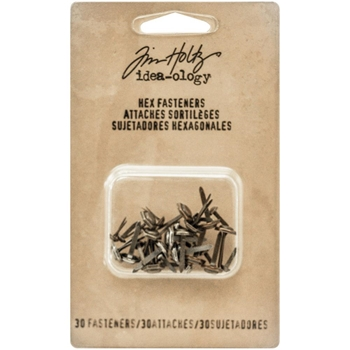 Tim Holtz Idea-ology HEX FASTENERS Findings TH93268