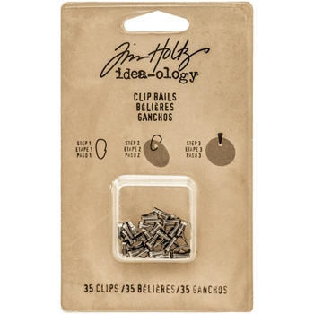 Tim Holtz Idea-ology CLIP BAILS Fasteners TH93292
