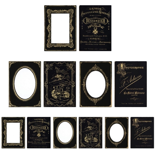 Tim Holtz Idea-ology SOPHISTICATE Cabinet Card Frames TH93288 Preview Image