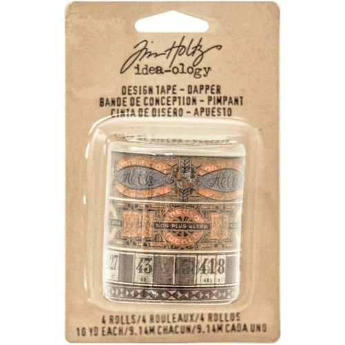 Tim Holtz Idea-ology DAPPER DESIGN TAPE Paperie TH93261 Preview Image