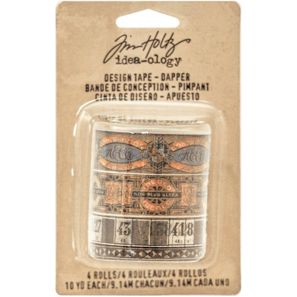 Tim Holtz Idea-ology DAPPER DESIGN TAPE Paperie TH93261 zoom image