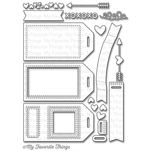 My Favorite Things TAG BUILDER BLUEPRINTS 5 Die-Namics MFT845 Preview Image