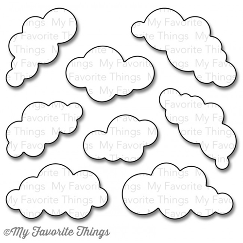 My Favorite Things PUFFY CLOUDS Die-Namics MFT830 Preview Image