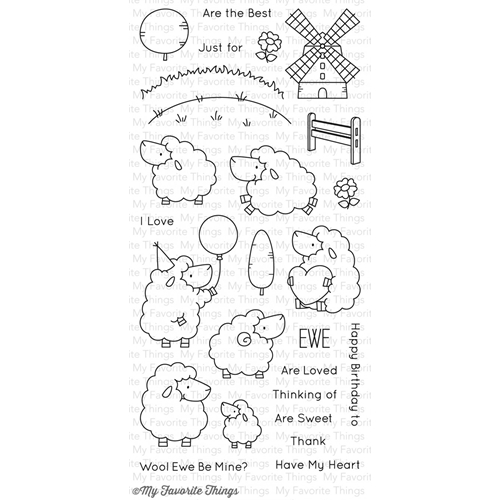 My Favorite Things EWE ARE THE BEST Clear Stamps BB29* Preview Image
