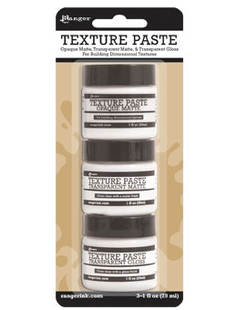 Ranger TEXTURE PASTE ASSORTMENT PACK INK48084 Preview Image