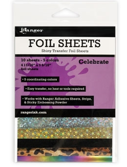 Ranger CELEBRATE Shiny Transfer Foil Sheets ISF49371 Preview Image