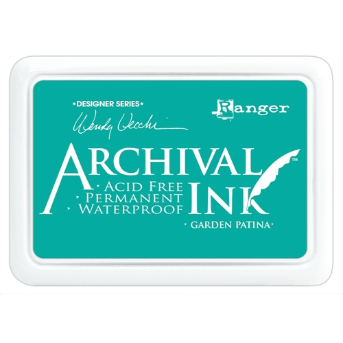 Ranger Wendy Vecchi Archival GARDEN PATINA Ink Pad AID48992 Preview Image