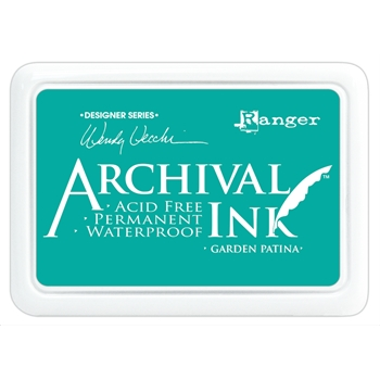 Ranger Wendy Vecchi Archival GARDEN PATINA Ink Pad AID48992