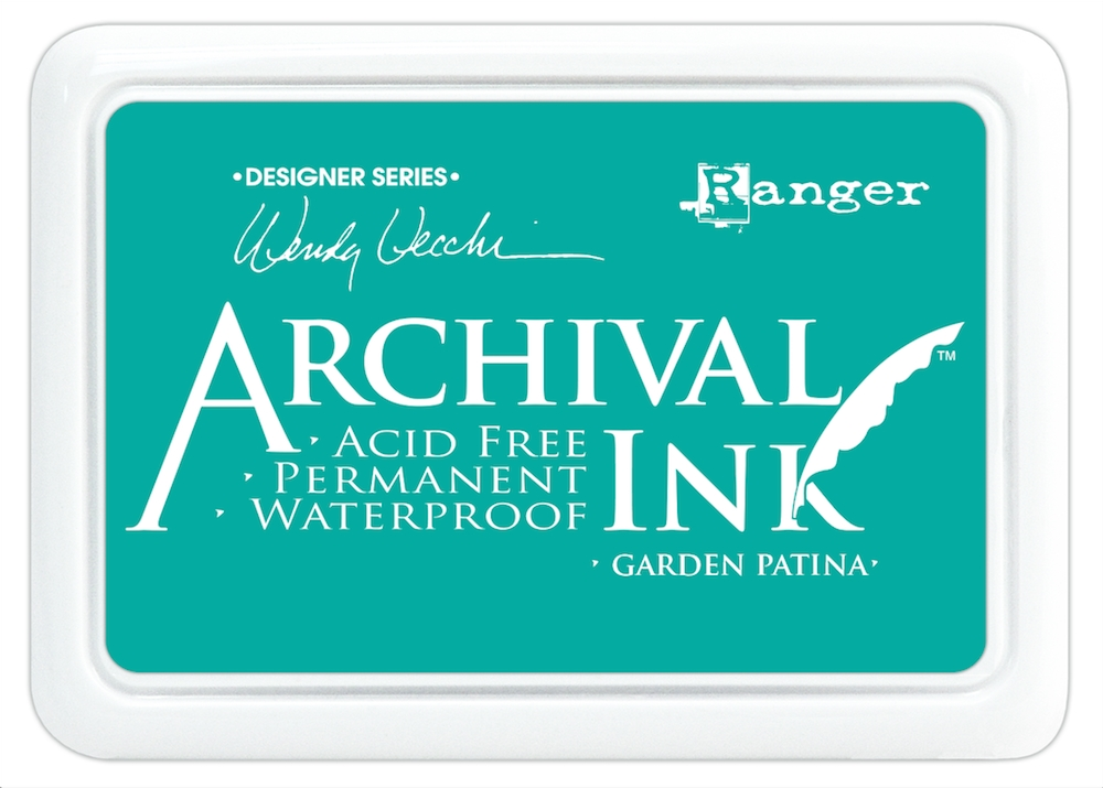 Ranger Wendy Vecchi Archival GARDEN PATINA Ink Pad AID48992 zoom image