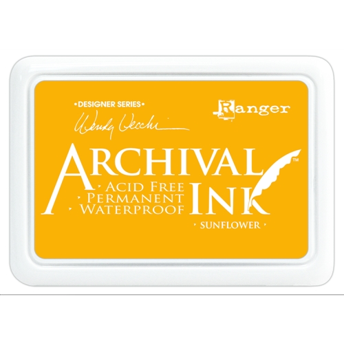 Ranger Wendy Vecchi Archival SUNFLOWER Ink Pad AID49005 * Preview Image