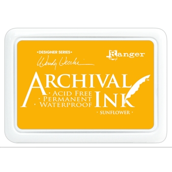 Ranger Wendy Vecchi Archival SUNFLOWER Ink Pad AID49005