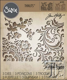 Tim Holtz Sizzix MIXED MEDIA 2 Thinlits Die 661185 zoom image