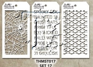 Tim Holtz MINI STENCIL SET 17 MST017 zoom image