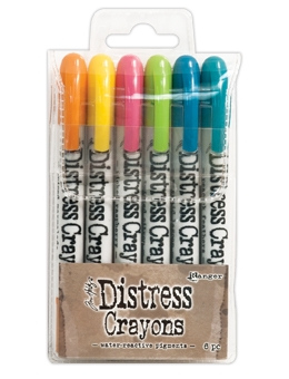 Ranger Tim Holtz Distress Crayons SET 1 TDBK47902 Preview Image