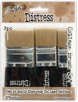 Tim Holtz Distress COLLAGE BRUSH SET TDA50896 Preview Image