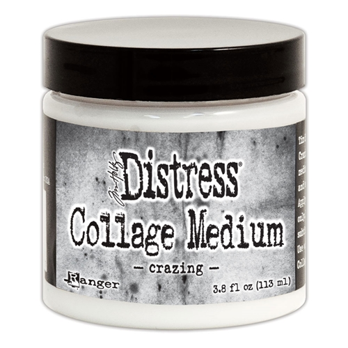 Tim Holtz Distress Collage Medium CRAZING TDA47957 Preview Image