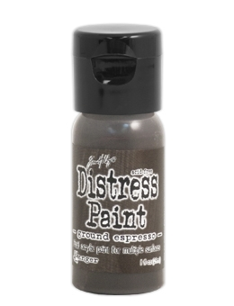 Tim Holtz Flip Top Distress Paint GROUND ESPRESSO Ranger TDF50605