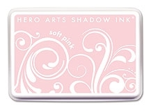 Hero Arts SHADOW Ink Pad SOFT PINK Blossom AF168