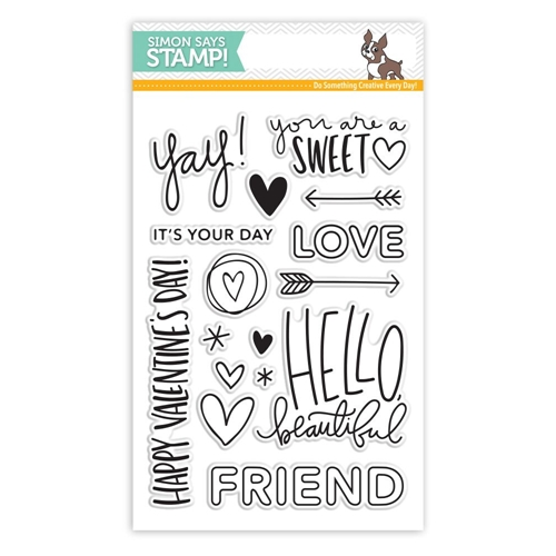 Simon Says Clear Stamps HELLO BEAUTIFUL sss101603 Preview Image