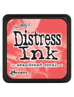 Tim Holtz Distress Mini Ink Pad ABANDONED CORAL Ranger TDP46769 Preview Image