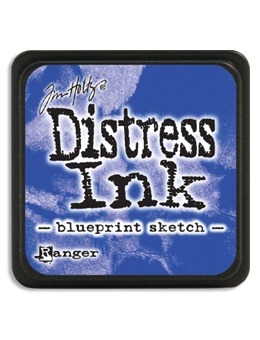 Tim Holtz Distress Mini Ink Pad BLUEPRINT SKETCH Ranger TDP47346 Preview Image