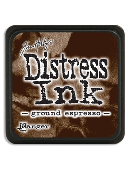 Tim Holtz Distress Mini Ink Pad GROUND ESPRESSO Ranger TDP47353