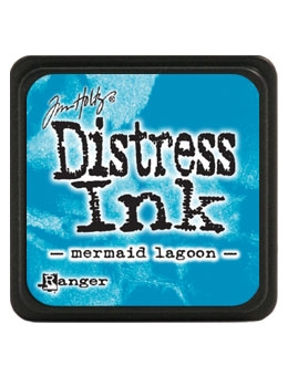 Tim Holtz Distress Mini Ink Pad MERMAID LAGOON Ranger TDP46790 zoom image