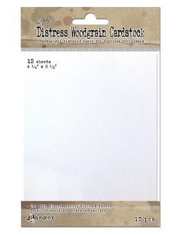 Tim Holtz DISTRESS WOODGRAIN CARDSTOCK Ranger Ink TDA51022 Preview Image