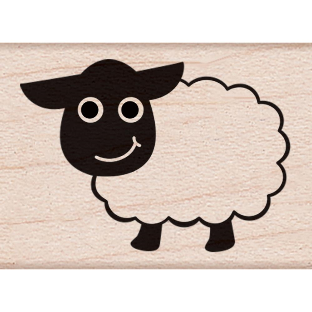 Hero Arts Rubber Stamp LITTLE SHEEP A6154 zoom image