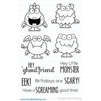 Your Next Stamp SILLY MONSTERS TWO Clear CYNS126