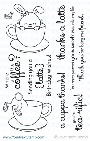 Your Next Stamp SPRINKLES COFFEE AND TEA Clear CYNS178 Preview Image