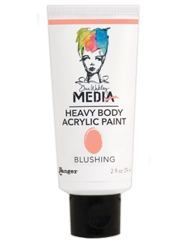 Dina Wakley Ranger BLUSHING Media Heavy Body Acrylic Paint MDP48794 zoom image