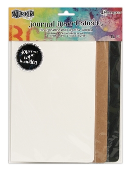 Ranger Dylusions SMALL JOURNAL INSERT SHEETS DYA49111 Preview Image