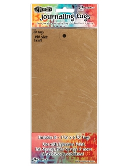 Ranger Dylusions KRAFT #10 Journaling Tags DYA47797 zoom image