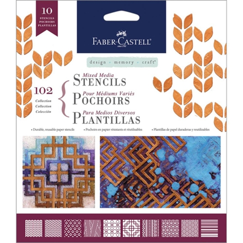 Faber-Castell CLASSIC Stencil Set 770602 Preview Image