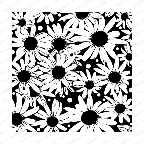 Impression Obsession Cling Stamp BLACKEYED SUSAN Create A Card CC236* zoom image
