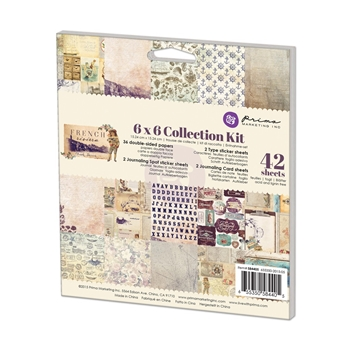 Prima Marketing FRENCH RIVIERA 6 x 6 Collection Kit 584405