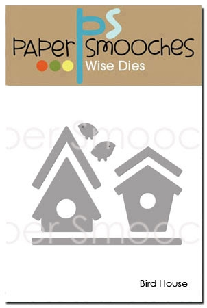 Paper Smooches BIRD HOUSE Wise Dies FBD306 Preview Image