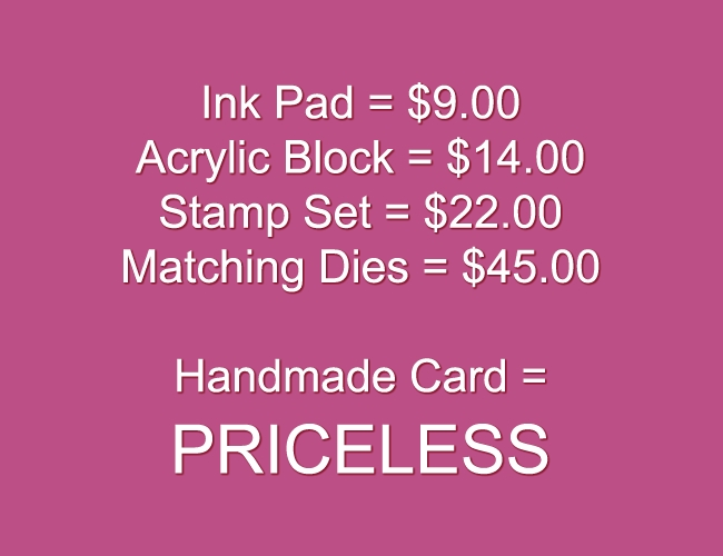Two-Lips Stamps PRICELESS Clear Stamp TL113-14 zoom image
