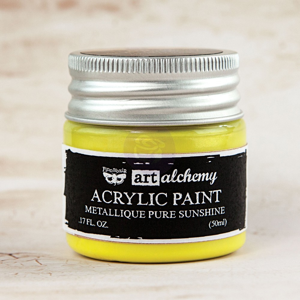 Prima Marketing METALLIQUE PURE SUNSHINE Art Alchemy Acrylic Paint 963187 zoom image