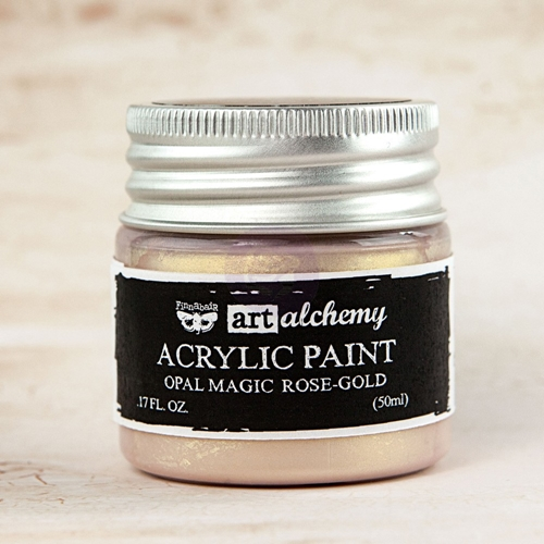 Prima Marketing OPAL MAGIC ROSE GOLD Art Alchemy Acrylic Paint 963620 Preview Image
