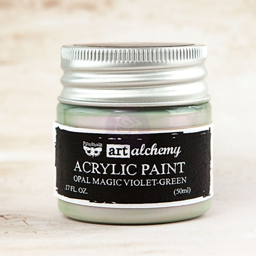 Prima Marketing OPAL MAGIC VIOLET GREEN Art Alchemy Acrylic Paint 963644* Preview Image