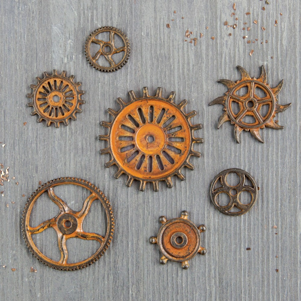 Prima Marketing RUSTIC GEARS Finnabair Mechanicals 963439 zoom image