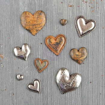 Prima Marketing TIN HEARTS Finnabair Mechanicals 963361