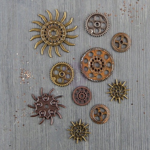 Prima Marketing STEAMPUNK GEARS Finnabair Mechanicals 963453 Preview Image