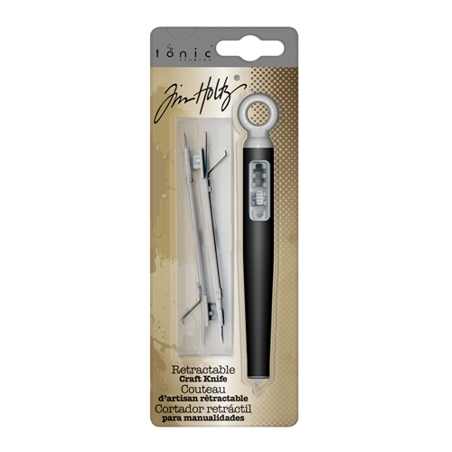 Tim Holtz Tonic CRAFT KNIFE Tool Blade Retractable With Spares 371 Preview Image