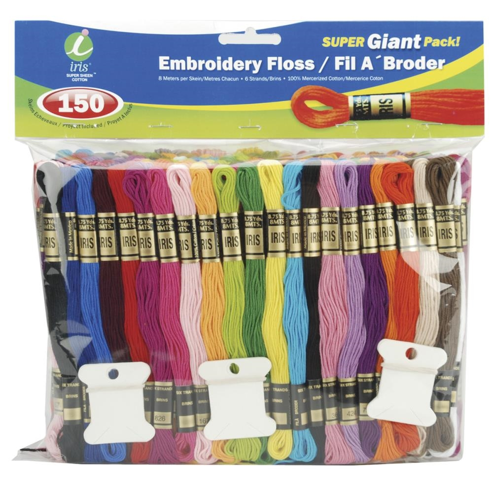 Iris Embroidery Floss Pack SUPER GIANT PACK 1270 zoom image