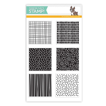 Simon Says Clear Stamps PATTERN SWATCHES SSS101592