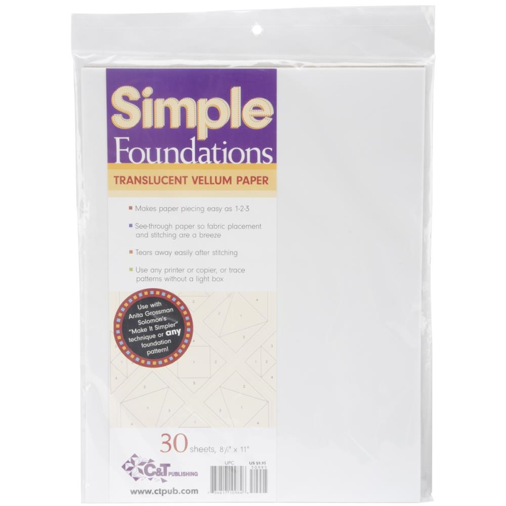 Simple Foundations TRANSLUCENT VELLUM PAPER 51195* zoom image